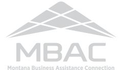 branding logo montana business assistance connection
